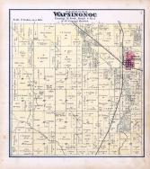 Wapsinonoc Township, West Liberty, Muscatine County 1874